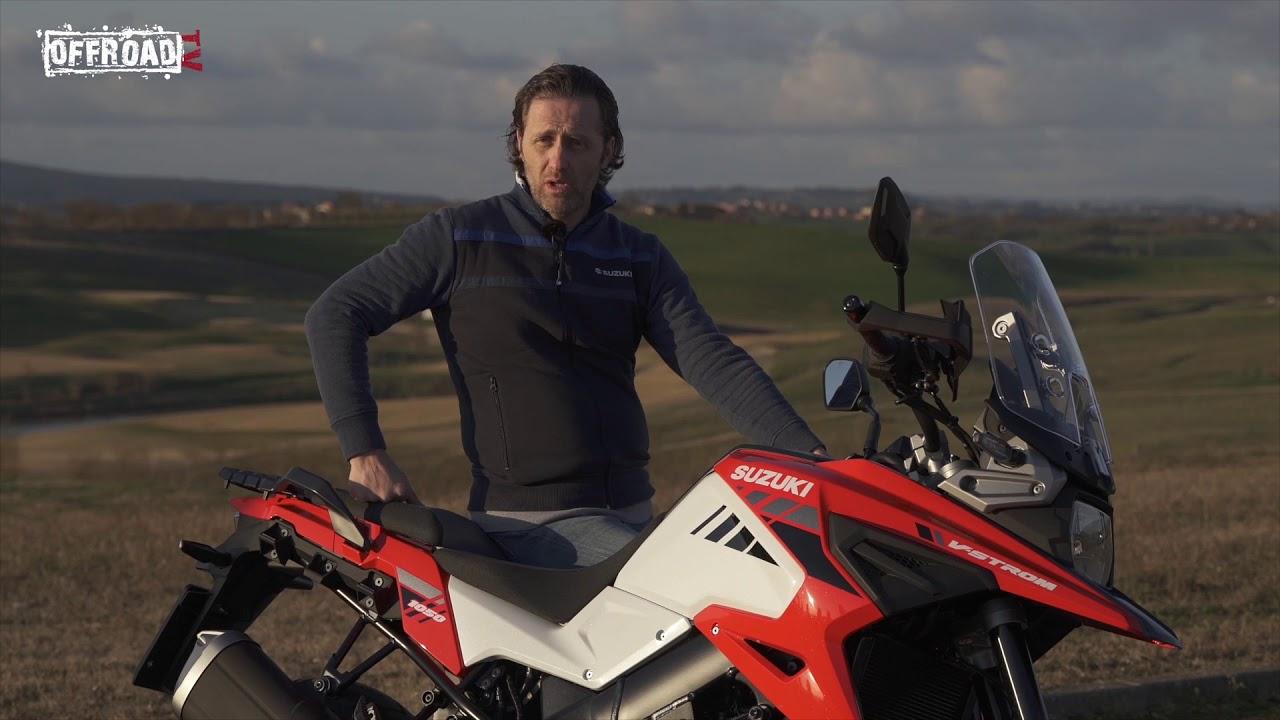 Enrico Bessolo presenta la Suzuki V-Strom