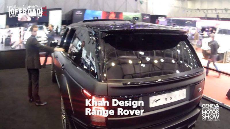 Ginevra 2015: Defender Khan Designe