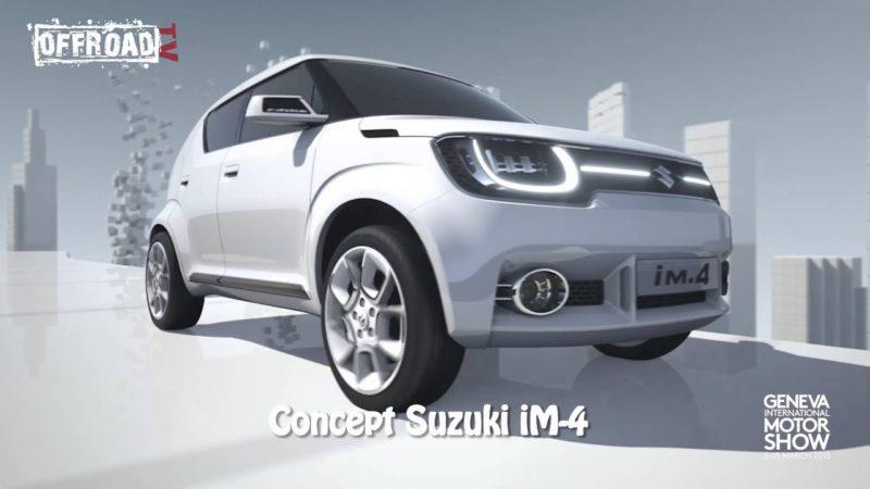 Ginevra 2015: concept Suzuki iM-4
