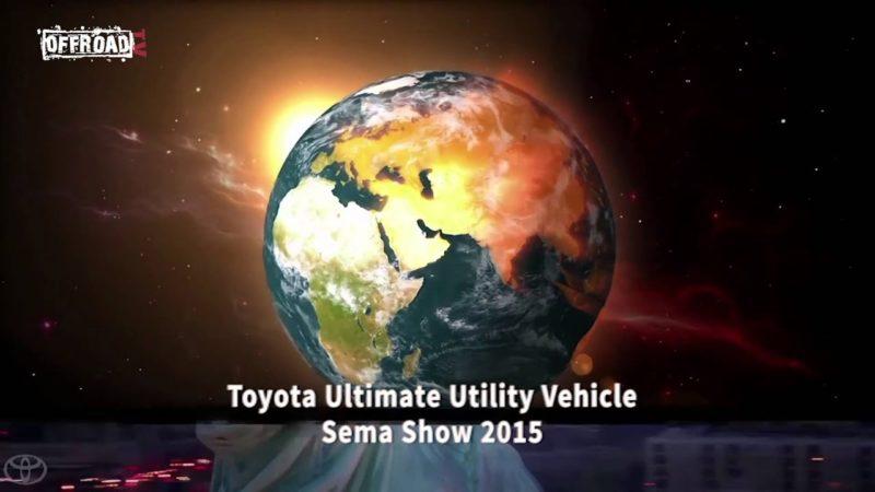 Sema show 2015: Toyota