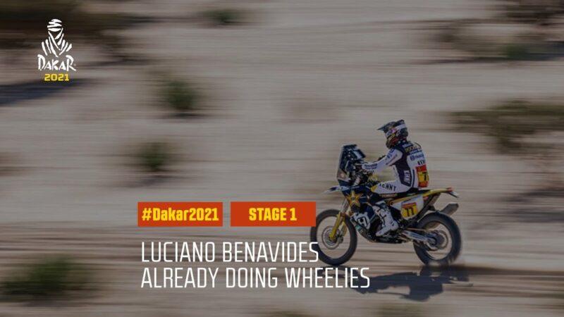 #DAKAR2021 – Stage 1 – Luciano Benavides