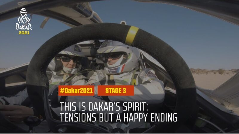 #DAKAR2021 – Stage 3 – This is Dakar's spirit: Tensions but always a happy ending!