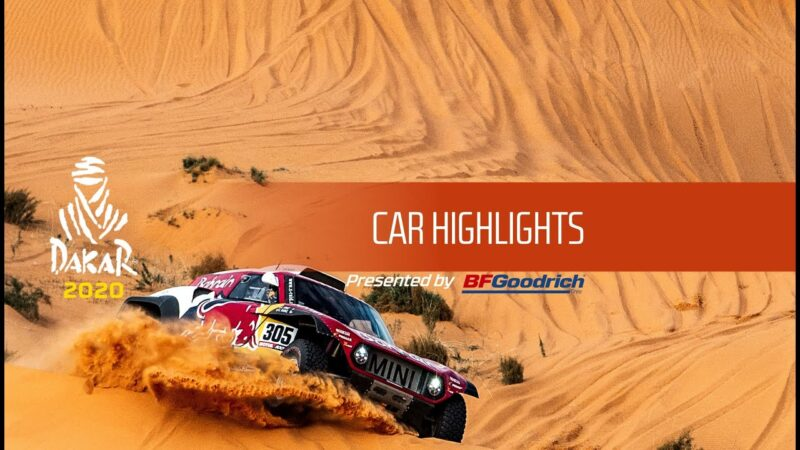 Dakar 2020 – Car Highlights